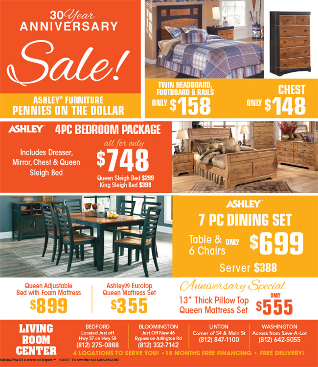 Living Room Center Current Ad